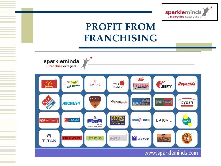 PROFIT FROM FRANCHISING