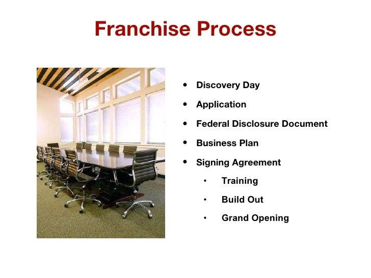 Franchise business plan ppt presentations