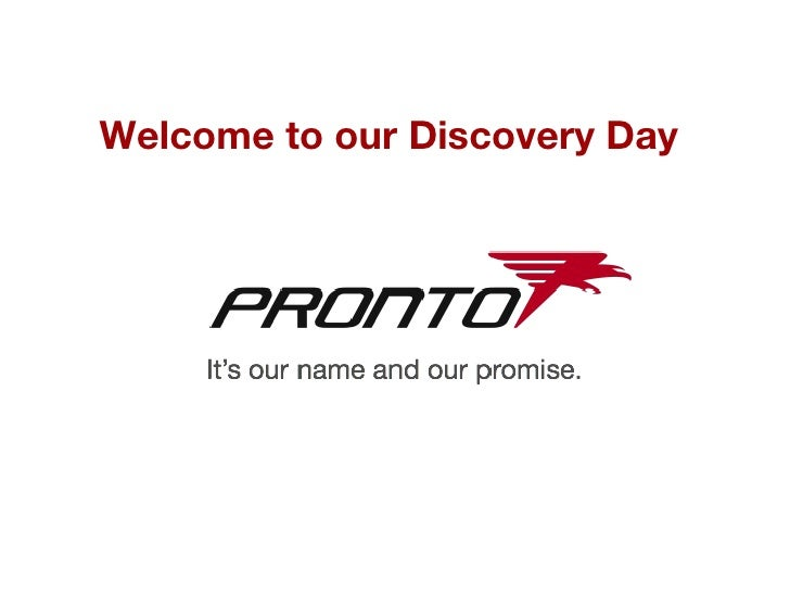 Welcome to our Discovery Day