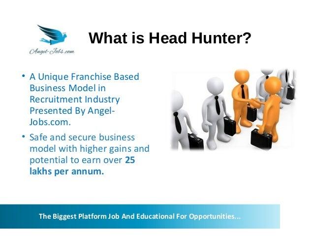 headhunter business plan