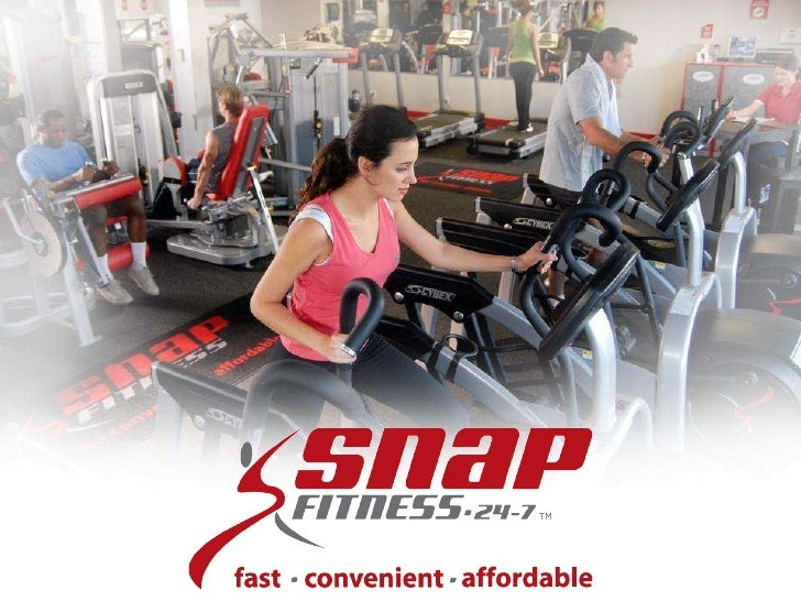 Snap Fitness Franchise Sales Presentation