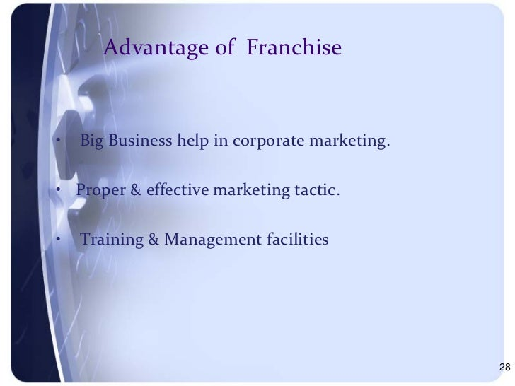 introduction to franchising Franchising: an introduction franchising in australia is amongst the most dynamic and progressive business sectors in the economy it is a recognised and reputable way of doing business in australia.