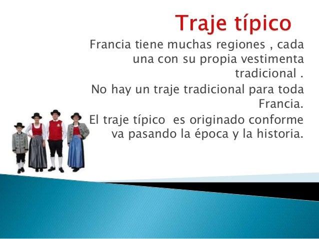 Francia for Tipico de francia