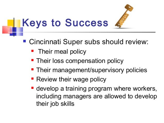 case study 5.2 cincinnati super subs