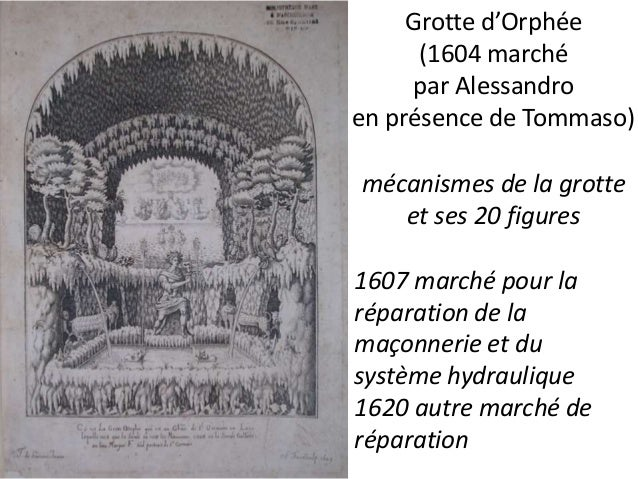 1611, Saint-Germain-en-Laye, entretien du système  hydraulique  Marché pour l'entretien de la citerne de Saint-  Germain, ...