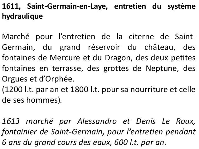 Fontainebleau, relevé, v. 1600-1608