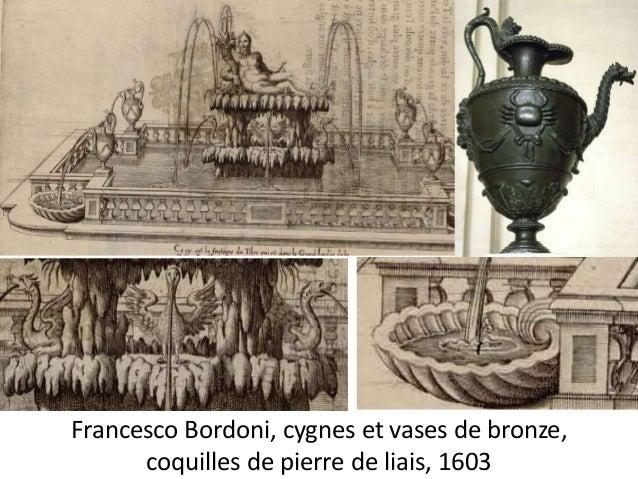 1631 devis et marché pour les réparations de la fontaine du  Tibre (5 300 l.t.).  Marché pour deux regards et un bassin de...