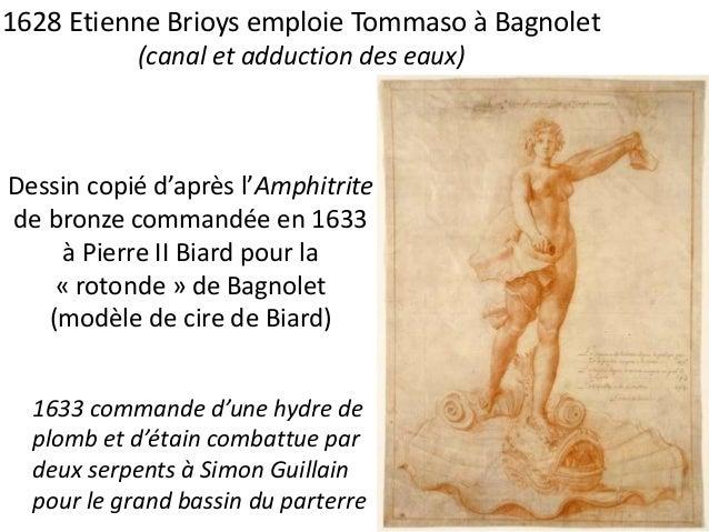 1629 devis et marché d'adduction d'eau à Versailles  par Alessandro en présence de Tommaso