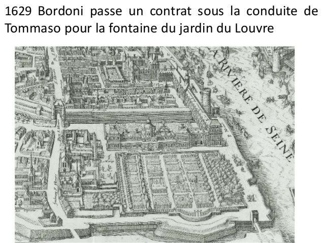 L'aqueduc de la reine  & le jardin du palais du Luxembourg