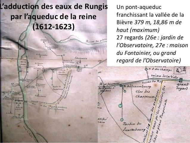 1627 Ruzé d'Effiat obtient de faire conduire des eaux de  sources à Chilly malgré l'avis contraire de Tommaso