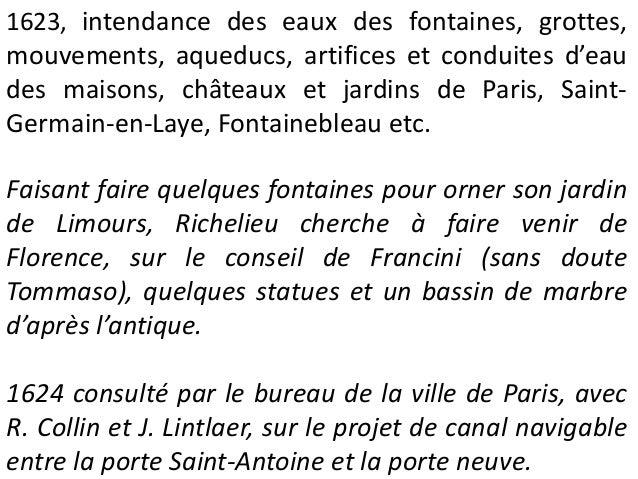 Projet pour le jardin du palais du Luxembourg