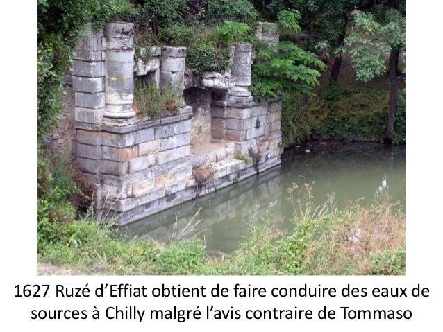1626 Tommaso assiste au devis et marché de  plomberie pour les bassins des fontaines du  Luxembourg passé sous ses ordres ...