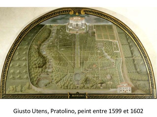 Giusto Utens, Pratolino, peint entre 1599 et 1602