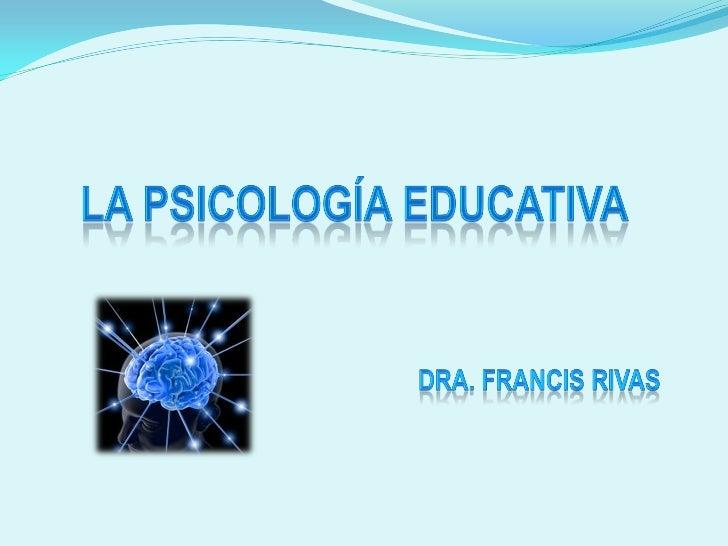 Dra. Francis Rivas
