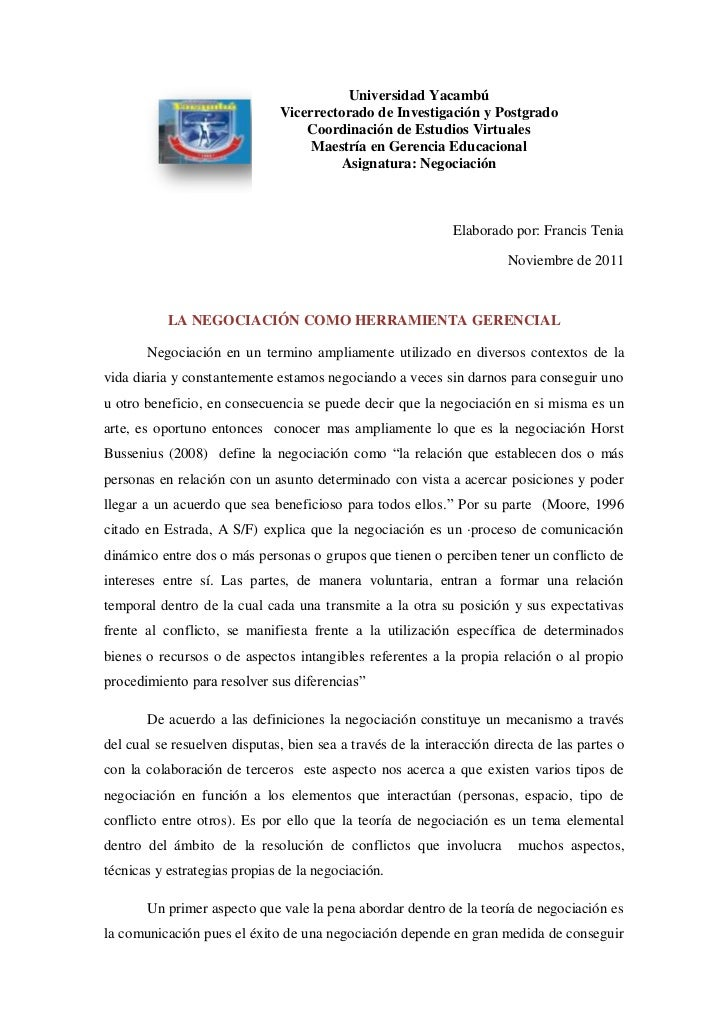 Universidad Yacambú                              Vicerrectorado de Investigación y Postgrado                              ...