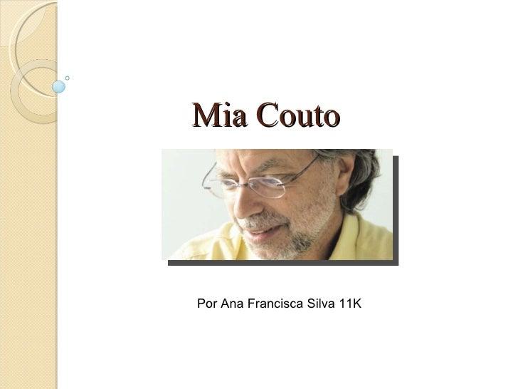 Mia Couto Por Ana Francisca Silva 11K