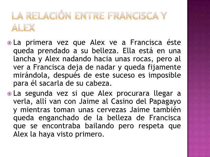 Francisca , yo te amo