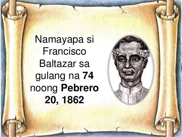 orosman at zafira by francisco baltazar essay Essay: the cardinal's  at tinula nang isang matouian sa versong tagalog by francisco baltazar  bataan, as well as orosman at zafira also by baltazar,.