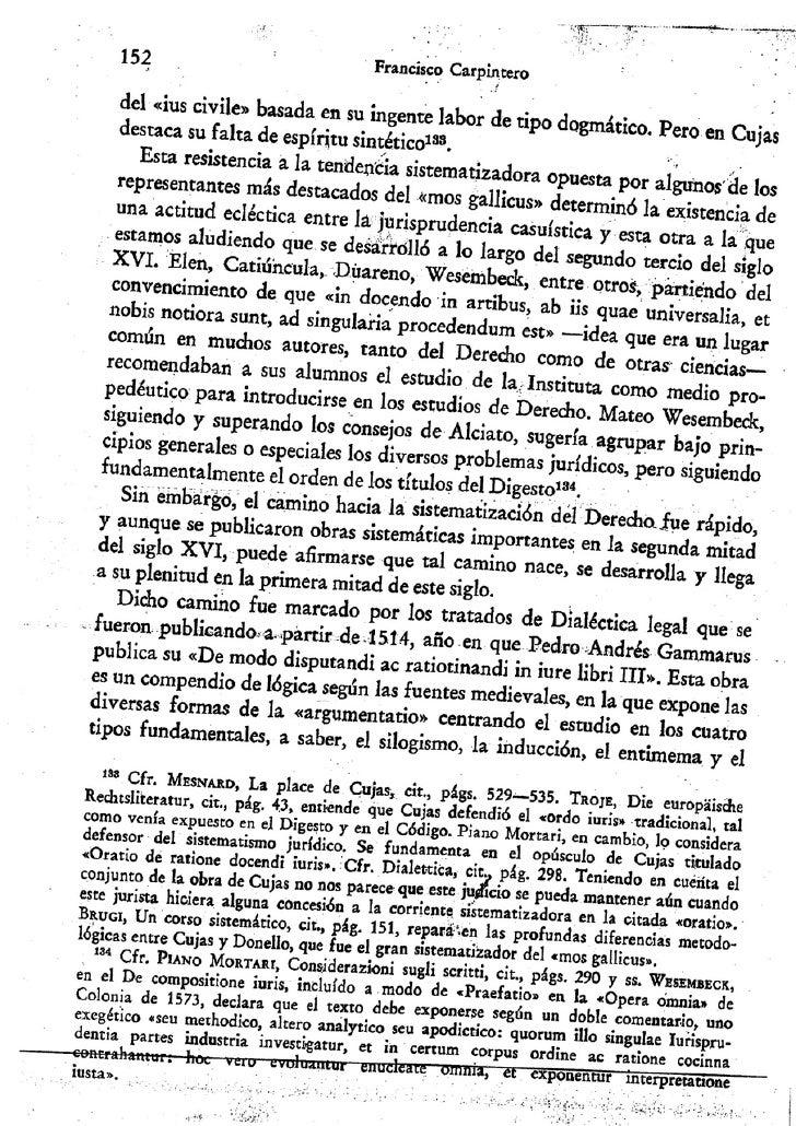 """Francisco carpintero:  """"Mos italicus"""", """"mos gallicus"""" y el humanismo racionalista. Una contribuición a la historia de la m..."""