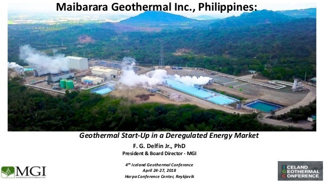 B4 - Maibarara Geothermal Inc , Philippines: Geothermal Start-Up in a…