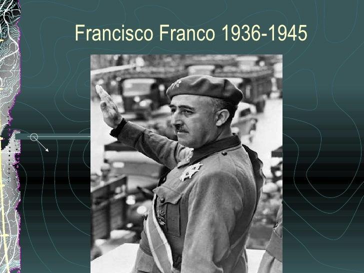 Francisco Franco 1936-1945