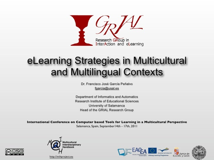 eLearning Strategies in Multicultural    and Multilingual Contexts                                       Dr. Francisco Jos...