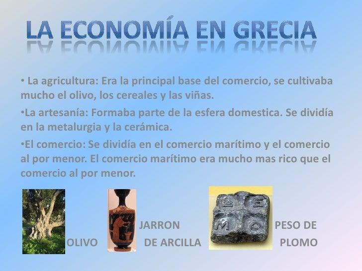 Francisco miguel sin monge, nº9, la economia en grecia