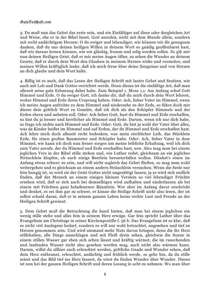 August Hermann Franckes kurzer Unterricht wie man die Heilige Schrift zu seiner wahren Erbauung lesen sollte. Slide 2