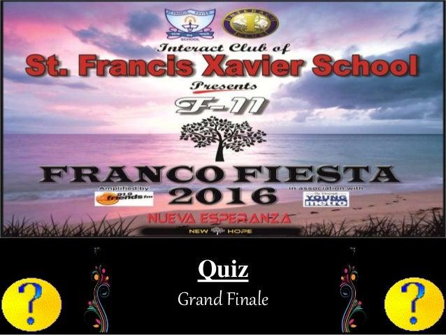Quiz Grand Finale