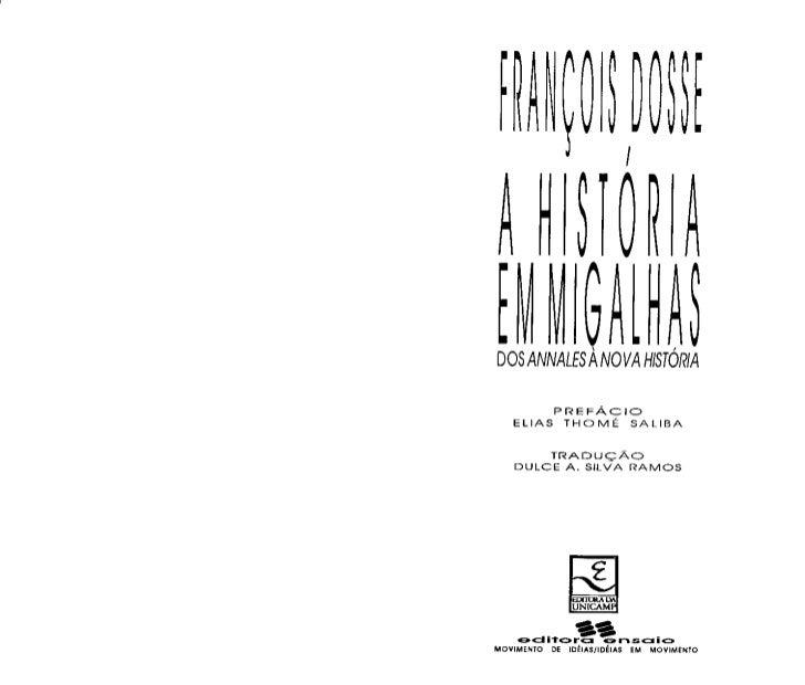 Francois dosse-historia-em-migalhas