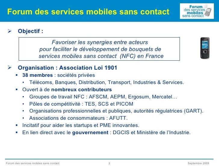 Francois Lecomte Forum Smsc   Paris 2 0   2009 09 23 Slide 2