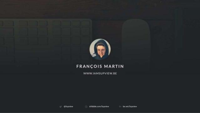 François Martin, Pixels Award 2014 - Pixels Festival S01E01