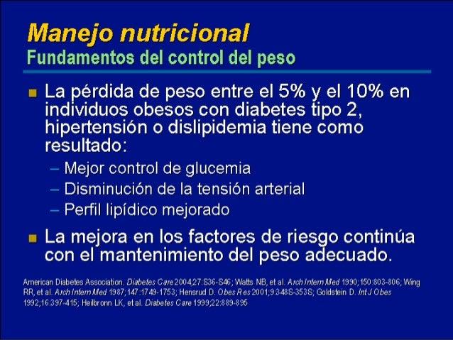 Efectos de la metformina con dieta y ejercicios en el