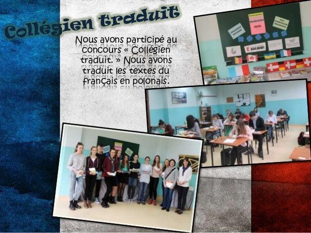 Variété Culinaire Nous avons préparé les friandises françaises : les madeleines et les croissants.