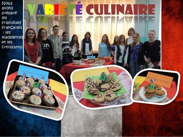 Le 20 mars, nous avons fêté La Journée de la Francophonie.