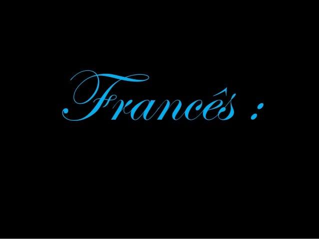 Francês :