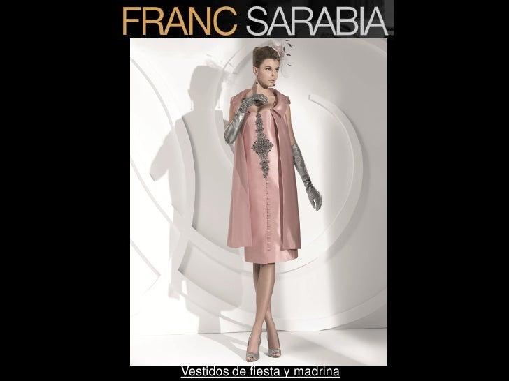 Coleccion vestidos madrina franc sarabia