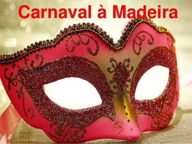 Carnaval à Madeira