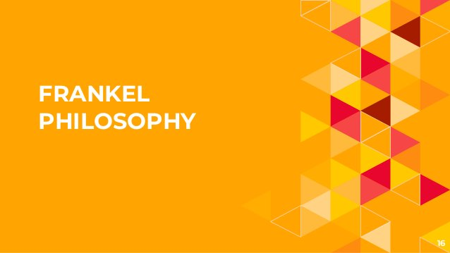 FRANKEL PHILOSOPHY 16