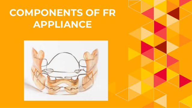 COMPONENTS OF FR APPLIANCE