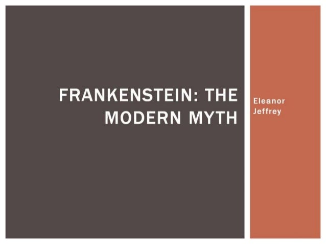 Frankenstein: the modern myth, A2 media analysis