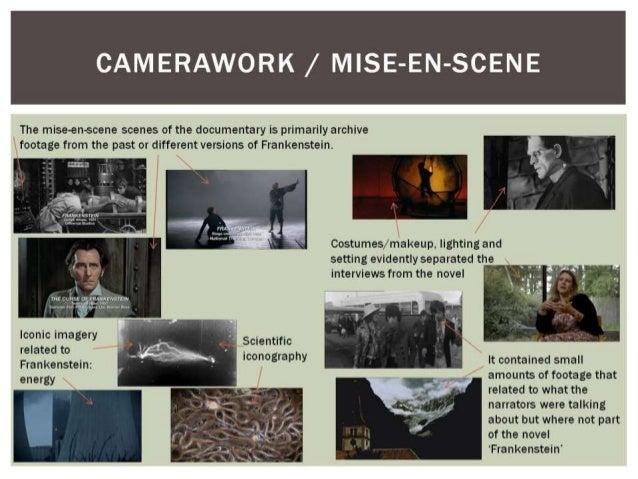Frankenstein: the modern myth, A2 media analysis