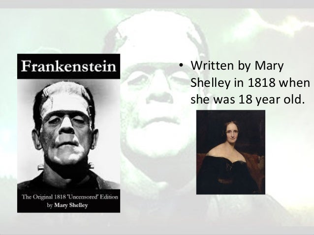 the romantic elements in frankenstein Free essay: romantic and gothic forces in mary shelley's frankenstein sometimes considered one of the first science fiction novels of supernatural terror.