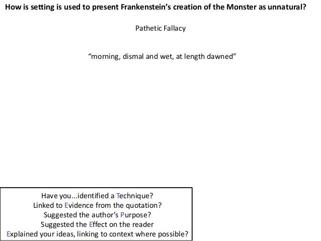 frankenstein and macbeth Frankenstein is macbeth and victor frankenstein essay novel by mary shelley that was first published in 1818 get a copy of frankenstein at bn summary read a plot overview of the entire book or a story by story summary and analysis.