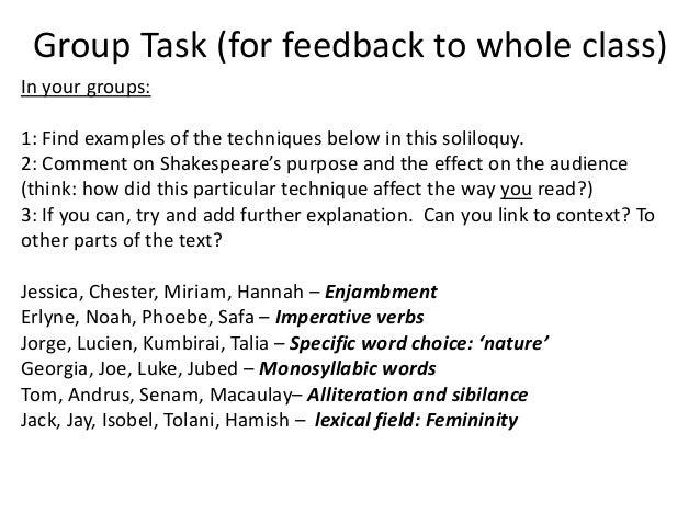 Lady Macbeth soliloquy analysis Essay Example  Graduateway