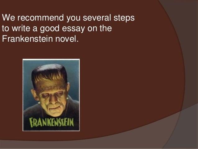 frankenstein essays