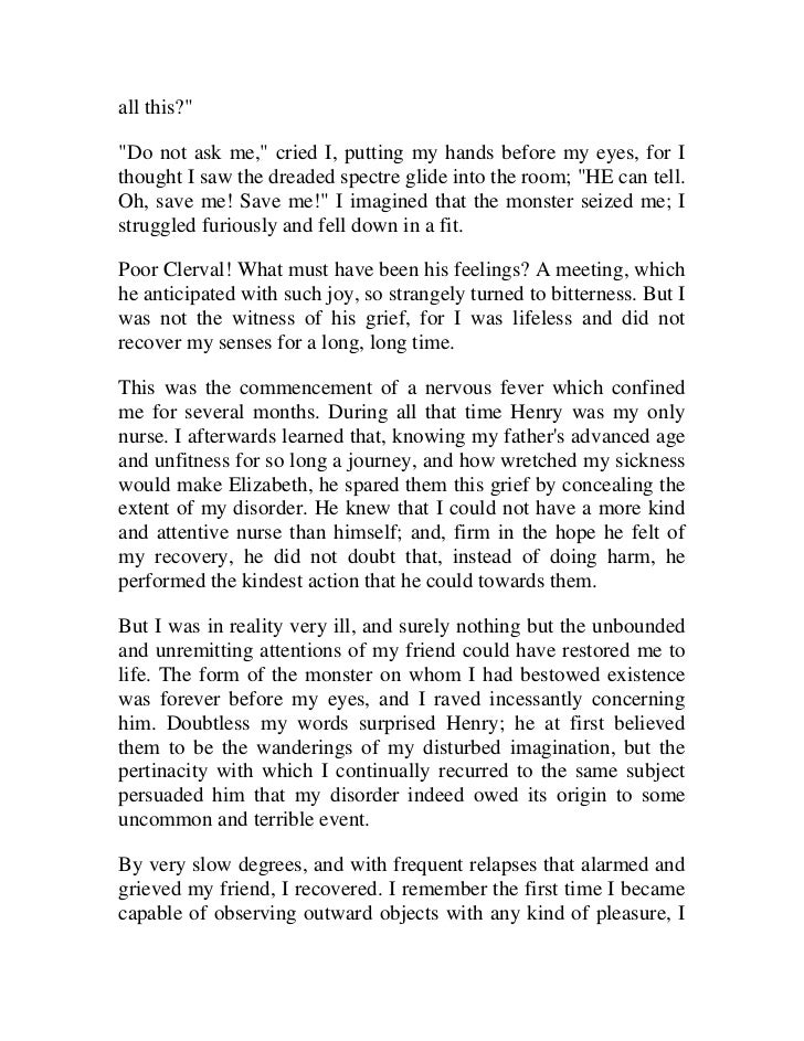 the letters of frankenstein 2015-1-8 frankenstein, vocabulary from letter 1-chapter  and discover who frankenstein really is and how he fits  which uses walton's letters to his sister to.