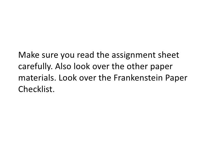 Thesis Statement For Argumentative Essay Frankenstein Paper  Process Essay Thesis Statement also The Benefits Of Learning English Essay Frankenstein Paper Religion And Science Essay