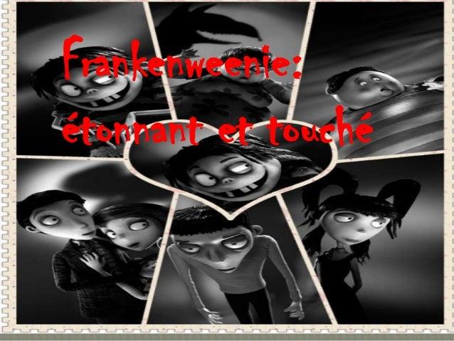 Frankenweenie:étonnant et touché