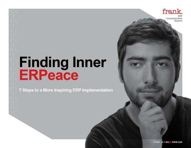 Finding Inner ERPeace